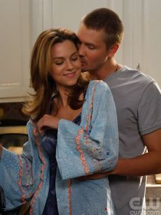 "Lucas & Peyton. ""When all my dreams come true, the one I want next to me. It's you."""