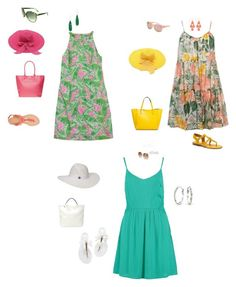 Untitled #4 by aponte59 on Polyvore featuring polyvore, moda, style, Lilly Pulitzer, Dorothy Perkins, even&odd, MLC Eyewear, Bamboo, Franco Sarto, Merona, Bling Jewelry, Elise M., GUESS, ASOS, fashion and clothing
