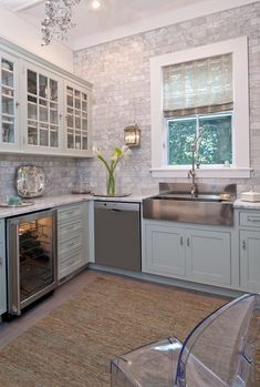 Farmhouse backsplash kitchen traditional with subway tiles tile kitchen backsplash ghost chair
