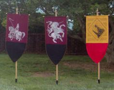 renaissance flags and banners | Medieval Flags And Banners - what is seen cannot be unseen
