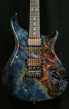 La Galaxy, par Gnaggs Guitars. Retrouvez des cours de guitare d'un nouveau genre sur MyMusicTeacher.fr #ElectricGuitar #vintageguitars