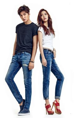 The Imaginary World of Monika: Lee Min Ho for Guess Jeans - Summer/Spring 2015 - 15.03.2015