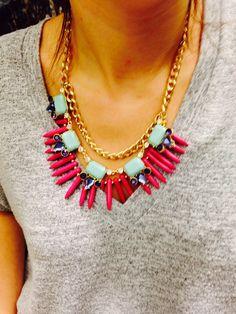 Boho chic necklace on Etsy, $40.00