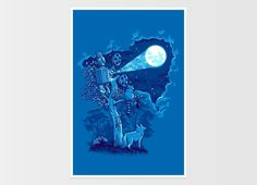"""Night Sky Projector"" - Threadless.com - Best t-shirts in the world"