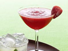 Get this all-star, easy-to-follow Frozen Strawberry Margaritas recipe from Food Network Kitchen