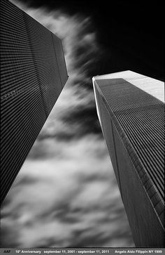 Angelo Aldo Filippin - Twin Towers, photographed in 1999