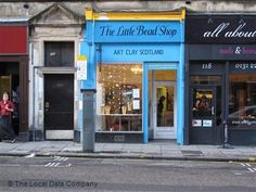 The Little Bead Shop, Edinburgh Scotland