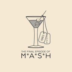 This Day In History - Feb 28 - 1983 - The final episode of MASH airs and is watched by 125 million viewers a record high for any television show of the time.  ---  #thisdayinhistory #todayinhistory #tdih #history #onthisday #minimal #minimalism #simple #minimalist #texture #adobe #illustration #vector #365project #MASH #MASH #alanalda #television #entertainment #korea #martini #dogtags #1983 #fact