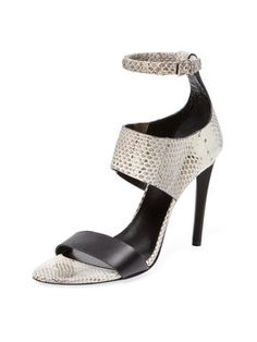High heel Ankle-Wrap Sandal from Proenza Schouler Shoes on Gilt