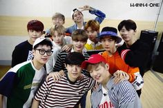 Wanna One Opens Official Social Media Accounts And Shares 1st Group Photo Together | Soompi