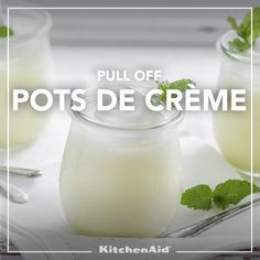 White Chocolate Peppermint Pots de Creme Challenge #moretomake