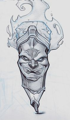 Evil Pencil by Raul-Moreno-Comic on DeviantArt