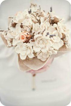 Winter Wedding Bouquet - Emily Steffen Photography
