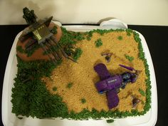 Halo Wars cake | Done for my brother's birthday, I cheaped o… | Flickr