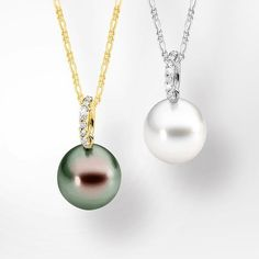 Pretty pearl pendants • Get a pair of pearl earrings for FREE when you spend $1,000 or more in a single transaction before Christmas. #ninassayslove #ninasjewellery #christmas #giftidea