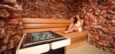 Salzsauna - Sauna mit Salzsteinen