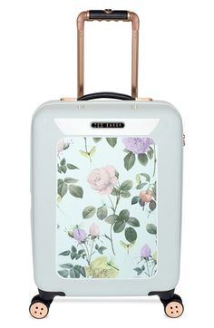 Ted Baker London 'Small Rose' Hard Shell Suitcase (22 Inch) available at #Nordstrom