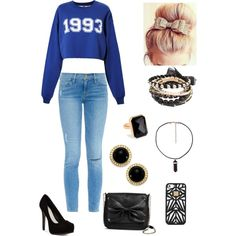 Untitled #5 by fashionismykryptonitebz on Polyvore featuring polyvore, fashion, style, MSGM, Frame Denim, Pour La Victoire, Sam & Libby, Ringly, Carolee and Hervé Léger