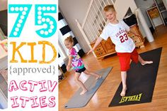 That's So Cuegly: 75 Kid {approved} Activities