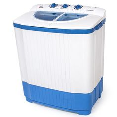 Mini wasmachine -  Wassen en centrifugeren - tot 4,5kg wasgoed