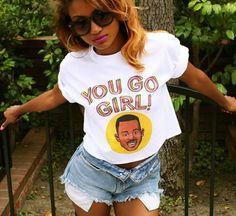 t-shirt martin lawrence you go girl martin tv show 90s