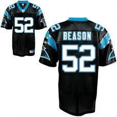 cfa910d6e Panthers  52 Jon Beason Black Stitched NFL Jersey Nike Nfl Shoes