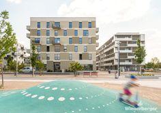 Spatenstich im Stadteil Seestadt Vienna, Multi Story Building, City