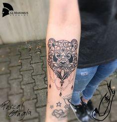 Pandala Mandala Panda Tattoo Falling Bird Tattoo Studio Hassloch