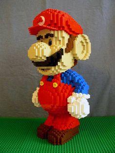 Giant Lego Mario