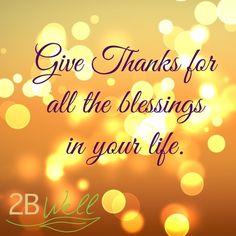 New Blog on Gratitude.