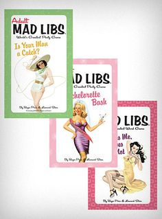 bachelorette mad libs party pack!..bridesmaid gift ideas~