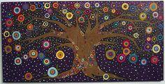 karla gerard textured tree