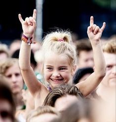 I promise my child is going to love metal as much as I do and we'll go to the concerts together...