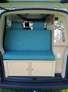 Custom design your own Achtung Camper with any colours and patterns you want! Our latest van conversion. Vw Campervans For Sale, Van Conversion Campervan, Rock And Roll Bed, Used Hyundai, Portable Solar Panels, Dinosaur Design, Car Wrap, Leather Design, Camper Van