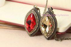 Diamond Diamante Necklace