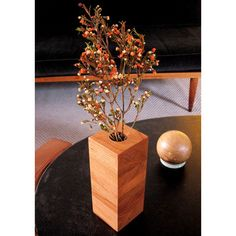 Small Box Vase Cherry, $48, now featured on Fab.