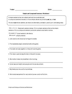 Printables Advanced Grammar Worksheets circling and writing prepositions worksheet advanced grammar simple compound sentences advanced