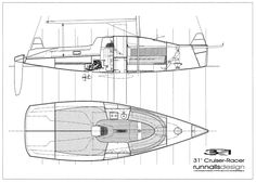 http://www.runnallsdesign.com/site/Runnalls_Design/31_Cruiser_Racer_Interior_Drawing.html