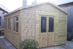 Timber Garden Workshop / Studio Made in Cornwall Near Falmouth