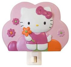 Hello Kitty Garden Night Light by Lambs and Ivy- Bring this item to your nursery.