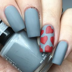The Polish List: New Rimmel Rita Ora 'My Grey' Swatch & Nail Art