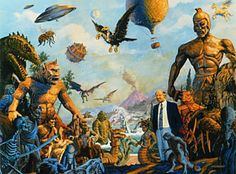 Ray Harryhausen Monsters | Posted by Mr. Mike D. at 10:25 AM