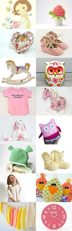 Spring Fresh for the little ones.   Just pinned.. by Cheryl Parrott on Etsy--   --Shared by WhatnotGems.Etsy.com #babyshoes #baby #babyshower #nurserydecor #wallart