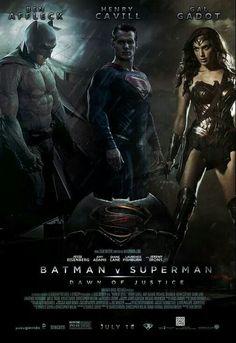 Batman Vs Superman Poster, Superman Movies, Geek Movies, Dc Movies, Dc Comics Superheroes, Marvel Dc Comics, Teaser, Hero Poster, Comics