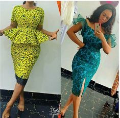 Look at this Trendy womens african fashion Ankara Dress Styles, Kente Styles, African Print Dresses, African Fashion Dresses, African Dress, Fashion Outfits, Ankara Skirt, African Outfits, African Clothes