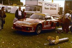 1978 Norisring Div IJägermeister Max Moritz Team Porsche 935 #5 Manfred Schurti
