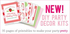 Chickabug - Paper & printables for beautifully personalized parties