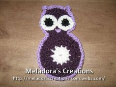 Owl Motif – Free Crochet Pattern