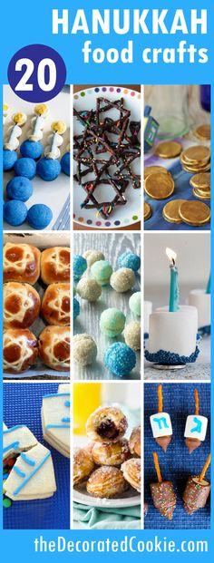 20 Hanukkah food craft ideas