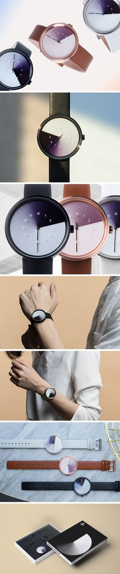 """Sheer simplicity, sheer beauty"" would be the words I'd use to describe Anicorn's Hidden Time watch. Designed in collaboration with designer Jiwoong Jung, the Hidden Time watch captured Jung's visual interpretation on how one should focus on the time at hand… literally. Using focus as the visual key, the design plays with gradients that help bring numbers to focus when they're relevant. PRE-ORDER NOW!"